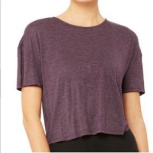 NWT Alo Yoga ENTWINE SHORT SLEEVE TOP Size M